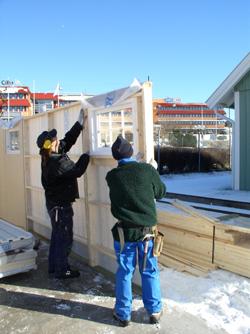 Bygga garage - Blocksystem från Mellby Garage