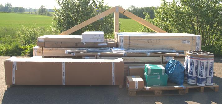 Byggsystem – lösvirke precut från Mellby Garage