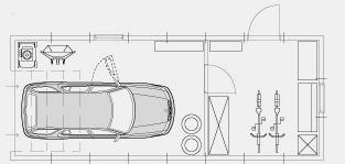 Bygga garage - utrymmesguide mått