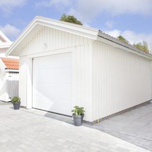 Bygglovsfritt enkelgarage från Mellby Garage