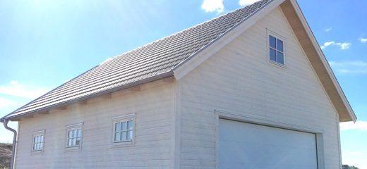 Visningsgarage hos Mellby garage i Vårgårda