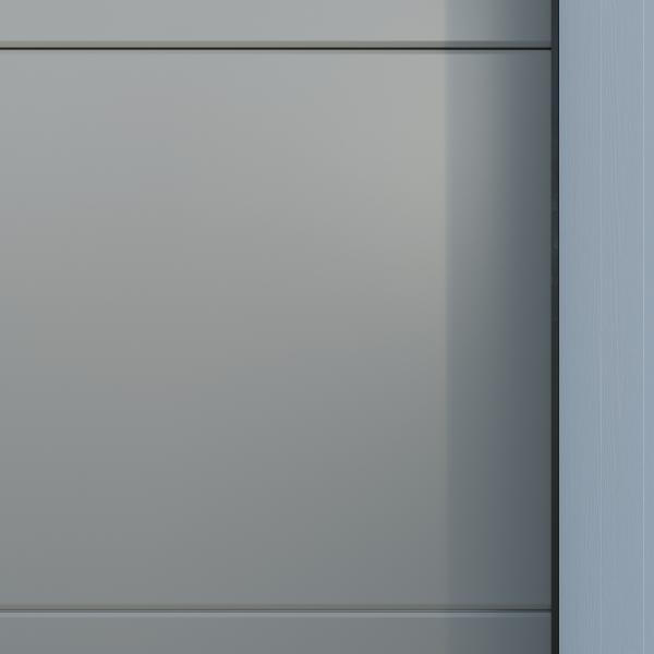 Crawford_Style_Slät - Grå aluminium
