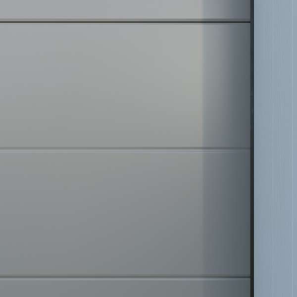 Crawford_Trend_Slät - Grå aluminium