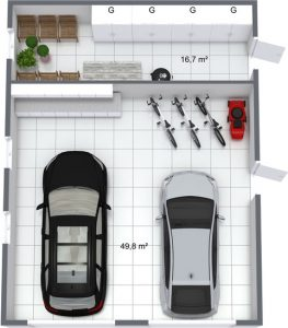 Planera garage med RoomSketcher
