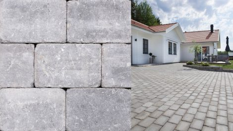 Benders labyrint antik grå